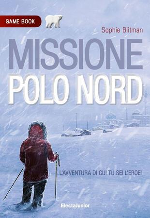 copertina Missione Polo Nord. Game book
