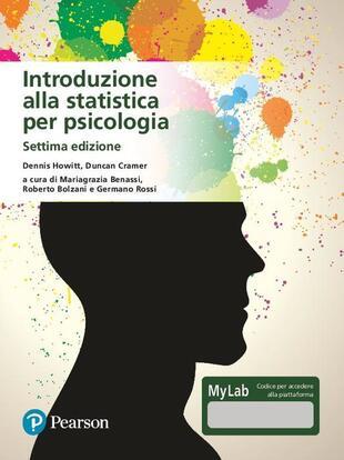 copertina Introduzione alla statistica per psicologia. Ediz. MyLab. Con Contenuto digitale per download e accesso on line