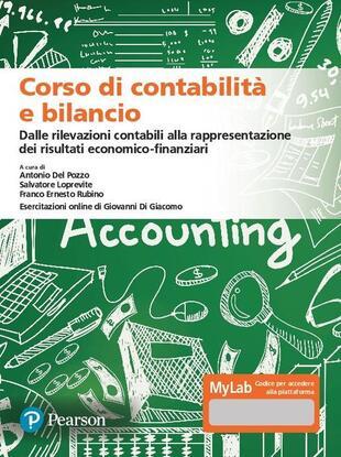 copertina Corso di contabilità e bilancio. Ediz. MyLab. Con Contenuto digitale per accesso on line