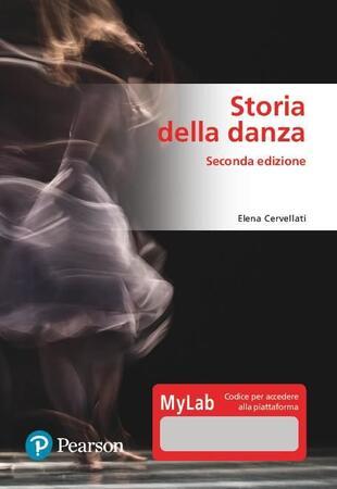 copertina Storia della danza. Ediz. MyLab