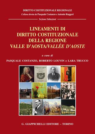 copertina Lineamenti di diritto costituzionale della Regione Valle d'Aosta/Vallée d'Aoste