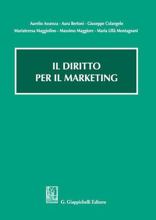 copertina Il diritto per il marketing