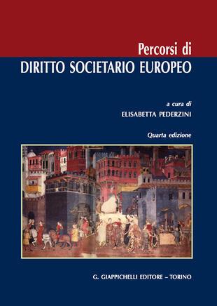 copertina Percorsi di diritto societario europeo