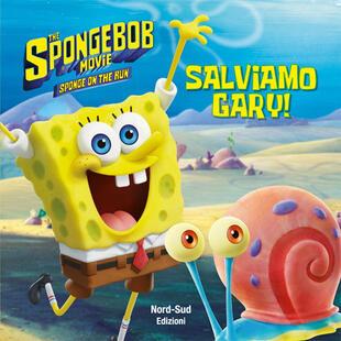 copertina Spongebob - Salviamo Gary!