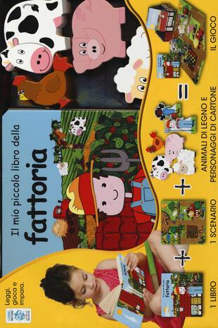 copertina Il mio piccolo libro della fattoria. Little village. Con gadget
