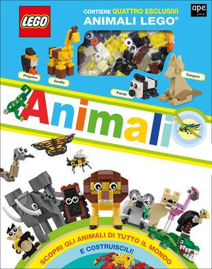 copertina Lego Atlante degli animali