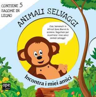 copertina Meet my friends - Animali selvaggi
