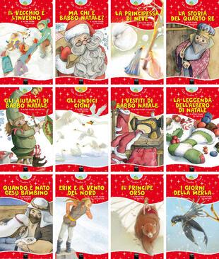 copertina Fiabe piccoline di Natale