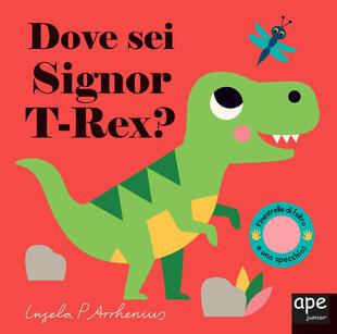 copertina Dove sei Signor T-Rex?