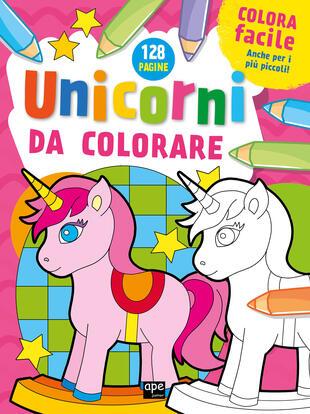 copertina Unicorni da colorare