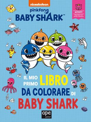 copertina Il mio primo libro da colorare di Baby Shark