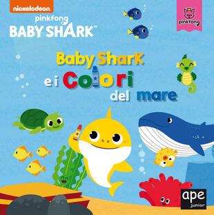 copertina Baby Shark e i colori del mare