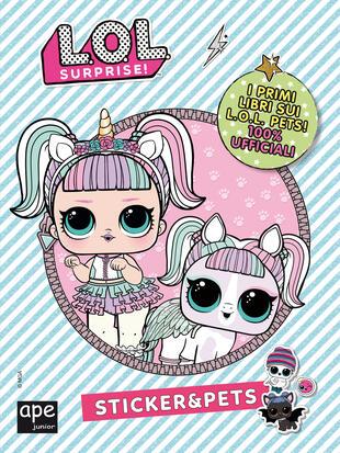 copertina Sticker&Pets