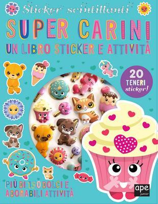 copertina Sticker 3D Super Carini
