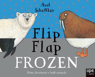 copertina Flip Flap Frozen