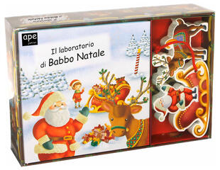 copertina Little Village Il Laboratorio di Babbo Natale
