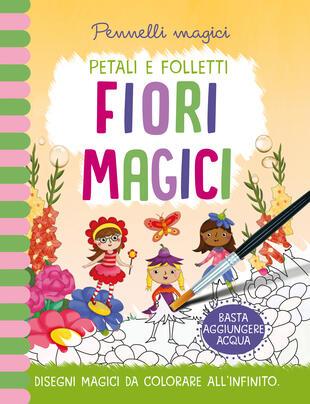 copertina Pennelli magici - Fiori Magici