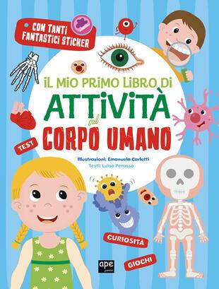 copertina Il mio primo libro di attività sul corpo umano