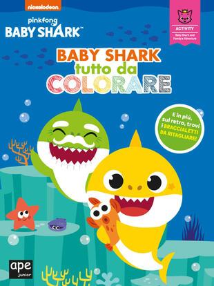 copertina Baby Shark tutto da colorare