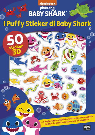 copertina I puffy sticker di Baby Shark