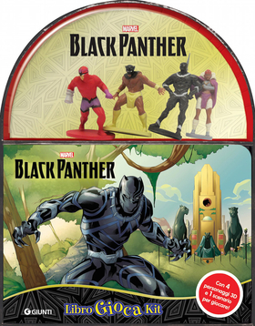 Black Panther. Libro gioca kit. Con gadget