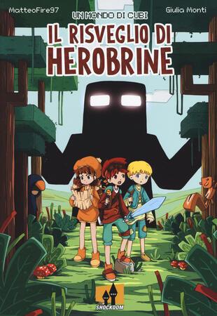 copertina Un mondo di cubi: il risveglio di Herobrine