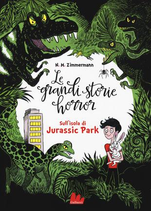 copertina Sull'isola di Jurassic Park. Le grandi storie horror. Vol. 3