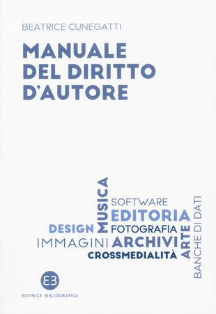 copertina Manuale del diritto d'autore