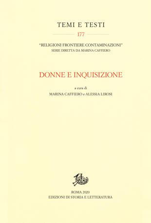 copertina Donne e Inquisizione