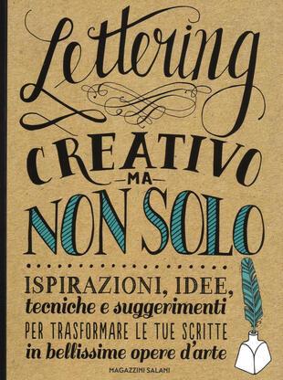 copertina Lettering creativo ma non solo