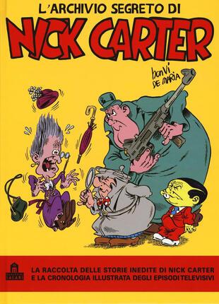 copertina L'archivio segreto di Nick Carter