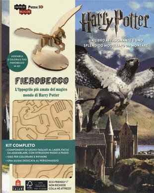 copertina Fierobecco. Harry Potter. Ediz. a colori. Con gadget