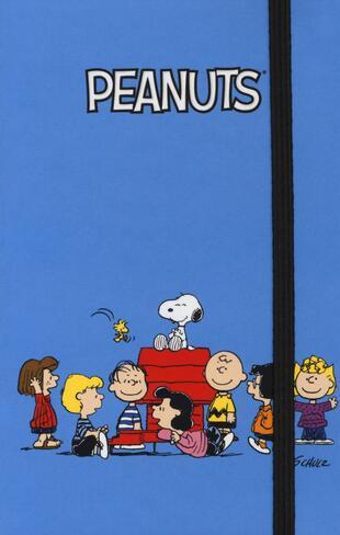 copertina Peanuts - Taccuino - Family (azzurro)