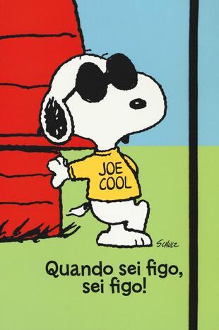 copertina Peanuts - Quando sei figo, sei figo