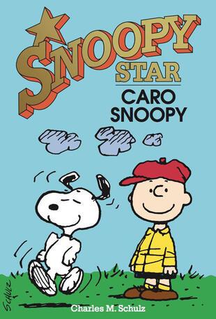 copertina Caro Snoopy. Snoopy stars