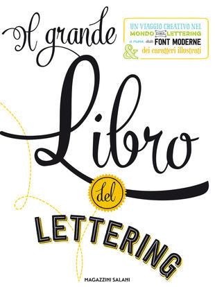 copertina Il grande libro del lettering