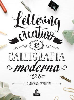 copertina Lettering creativo e calligrafia moderna