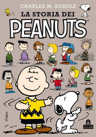 copertina La storia dei Peanuts