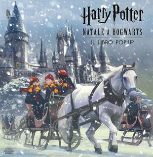copertina Harry Potter. Natale a Hogwarts - Il libro pop-up