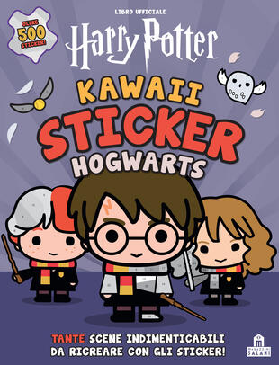 copertina Harry Potter. Kawaii sticker