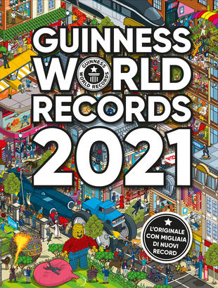 copertina Guinness World Records 2021