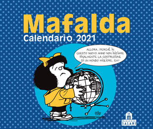 copertina Mafalda. Calendario da tavolo 2021
