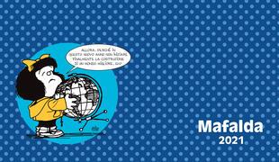 copertina Mafalda. Agenda orizzontale 2021