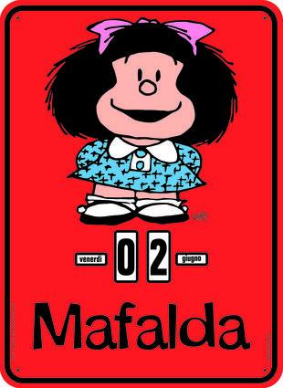 copertina Calendario Perpetuo. Mafalda Classica