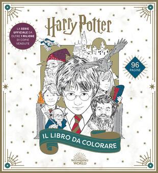 copertina Harry Potter. Il libro da colorare