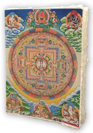 copertina Mandala notes. Nepal
