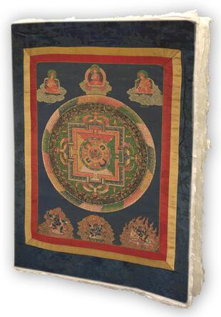 copertina Mandala notes. Tibet