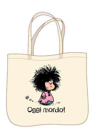 copertina Mafalda. Oggi mordo - Shopper classic