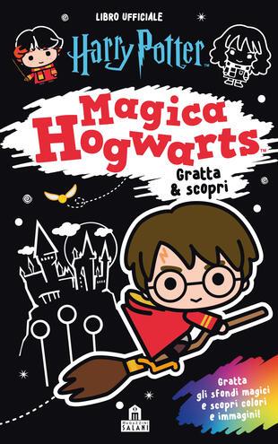 copertina Harry Potter. Magica Hogwarts - Gratta & scopri