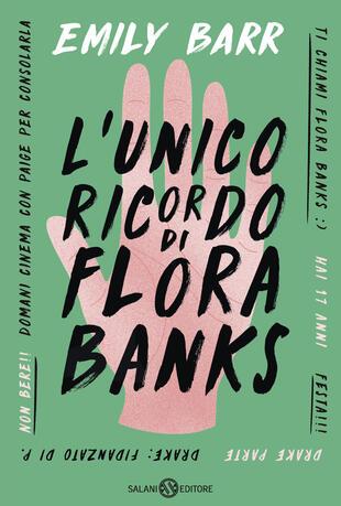 copertina L'unico ricordo di Flora Banks